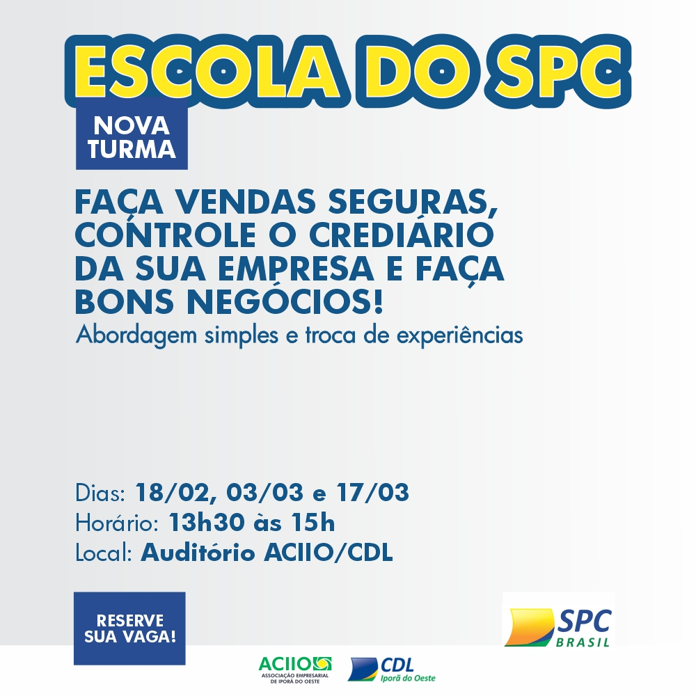 ESCOLA DO SPC